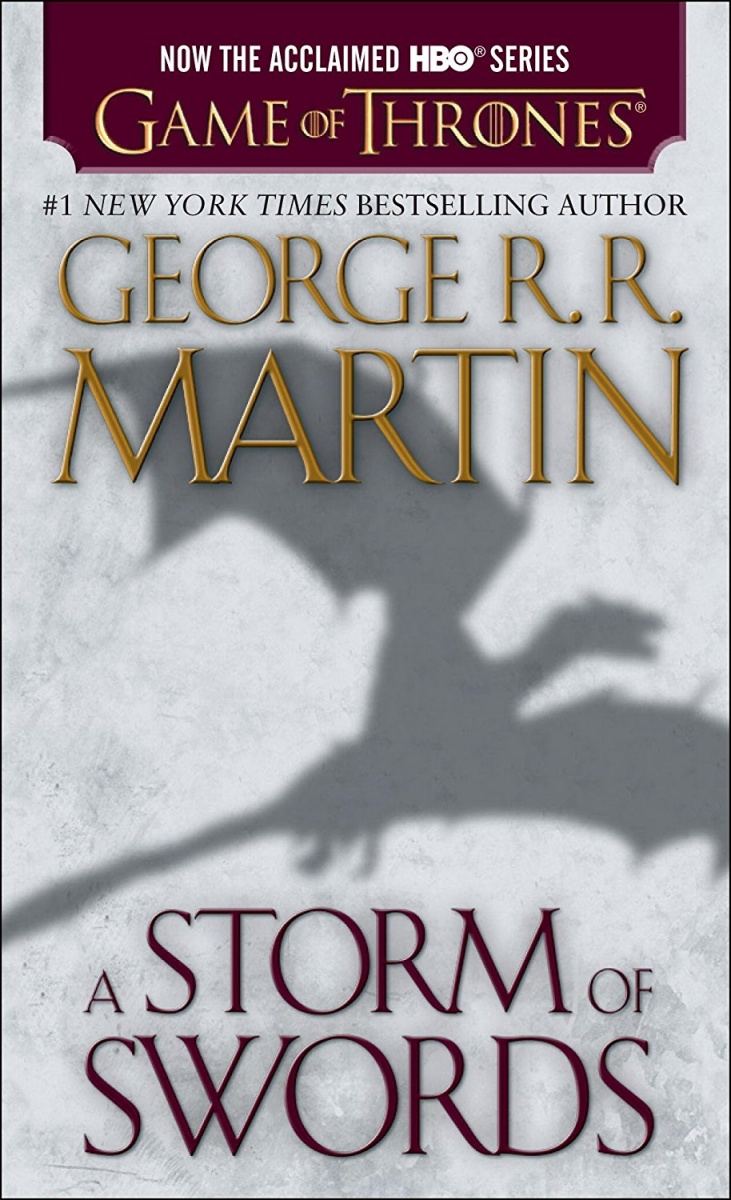 Martin G. A Storm of Swords mono japan a storm of light usa