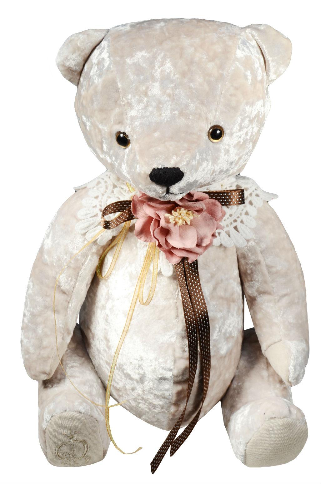 Мягкая игрушка Медведь БернАрт белый (30 см)