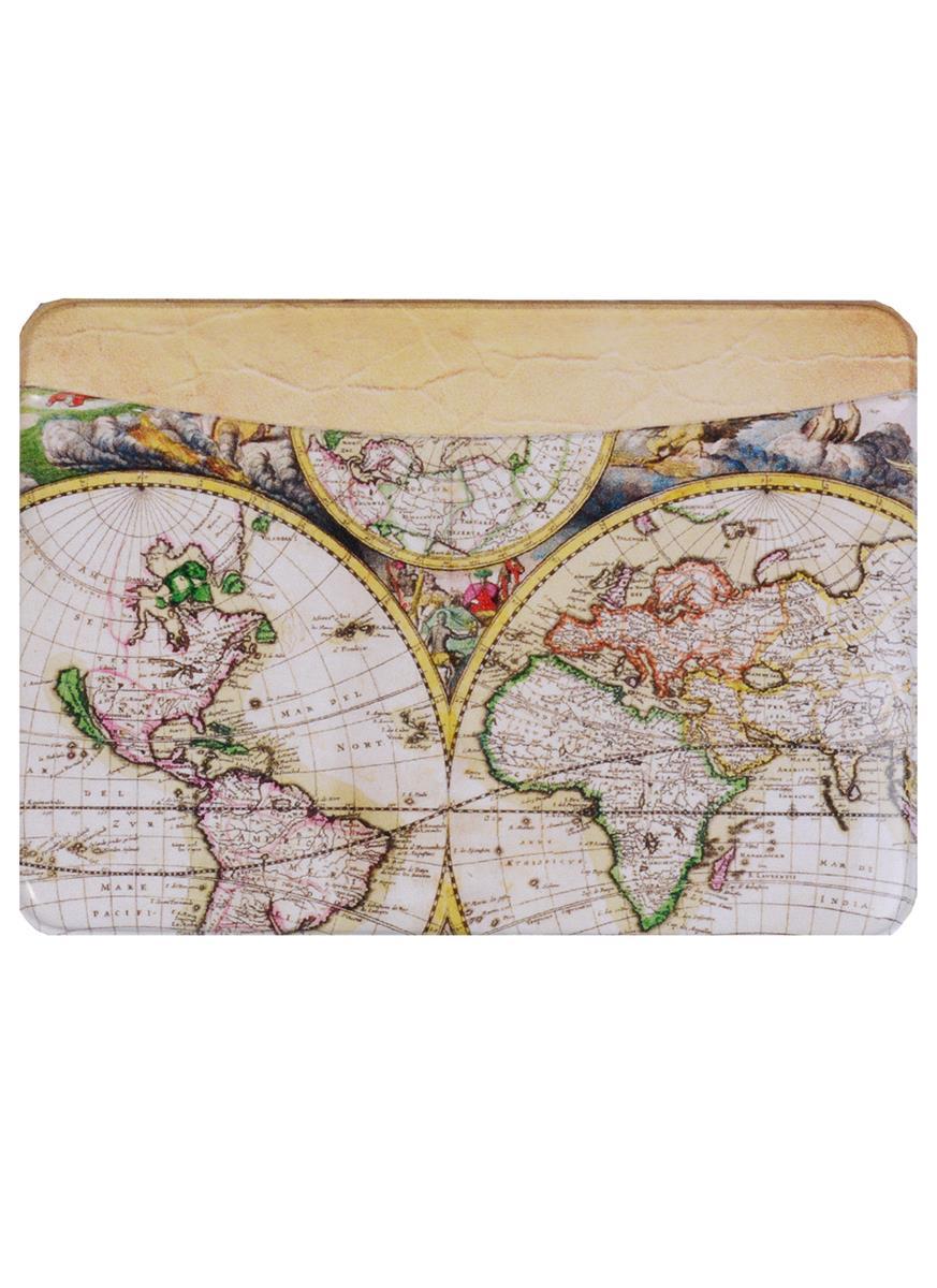 Чехол для карточек горизонтальный Старинные карты