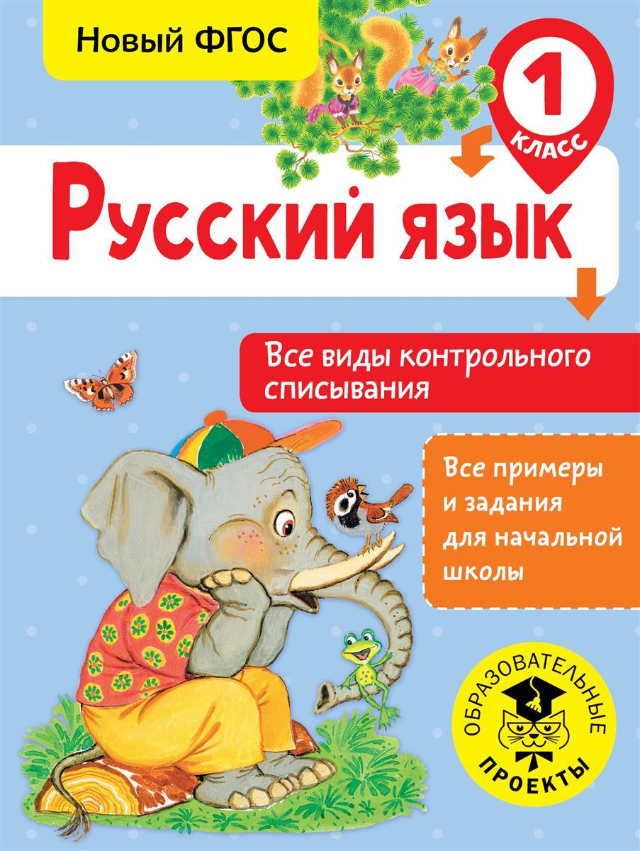 Русский язык. 1 класс. Все виды контрольного списывания