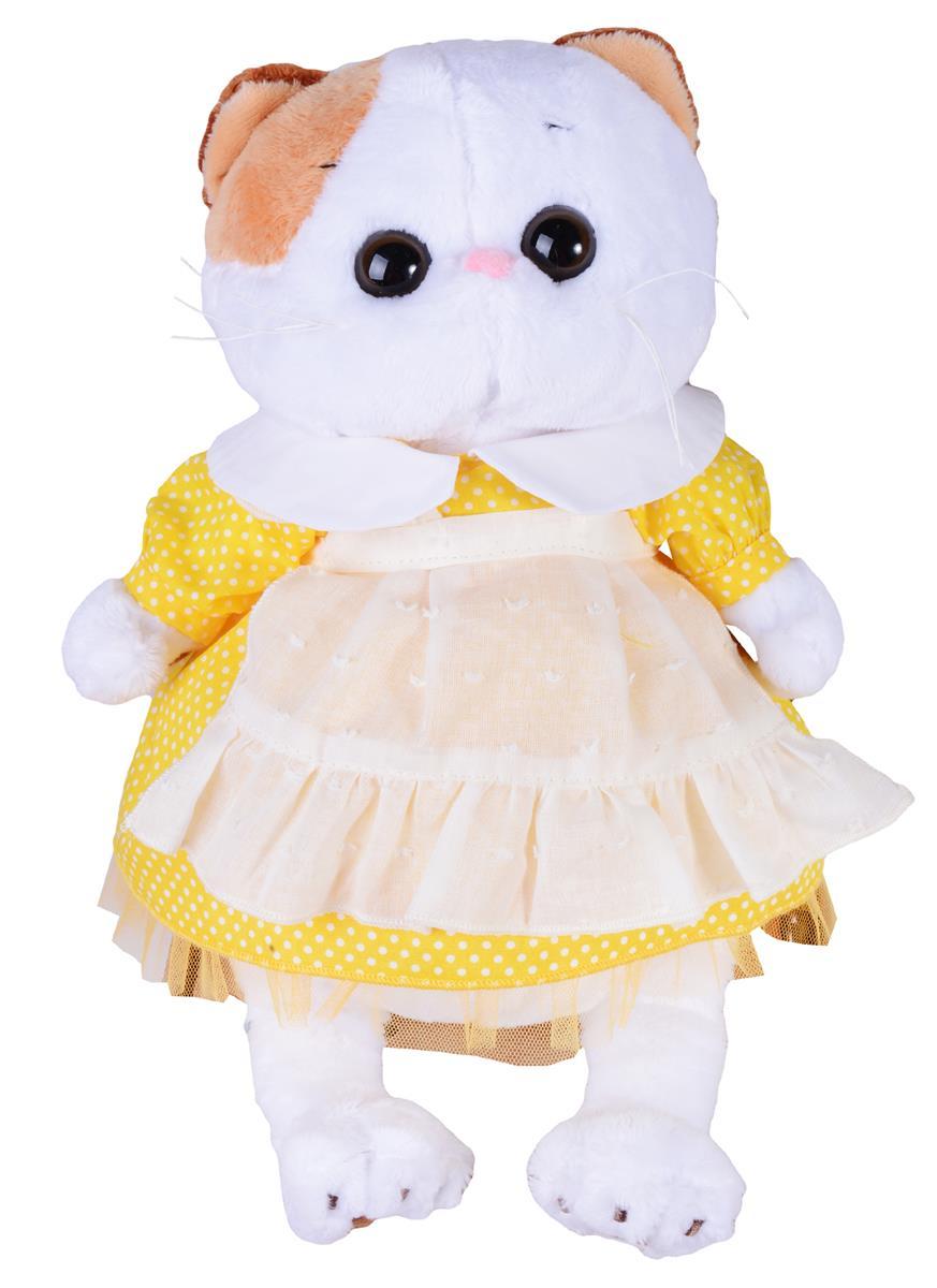 Мягкая игрушка Ли-Ли в желтом платье с передником (24 см)