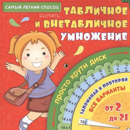 Франскевич А.: Самый легкий способ выучить табличное и внетабличное умножение. Просто крути диск