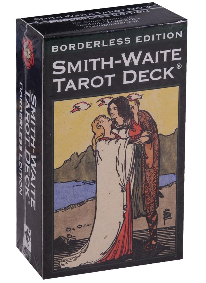 Colman Smith P. Smith-Waite Tarot Deck Borderless / Смит-Уэйт борделес Таро (карты + инструкция на английском языке) the classic tarot карты
