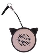 Беспроводной портативный динамик для телефона Котик (розовый)