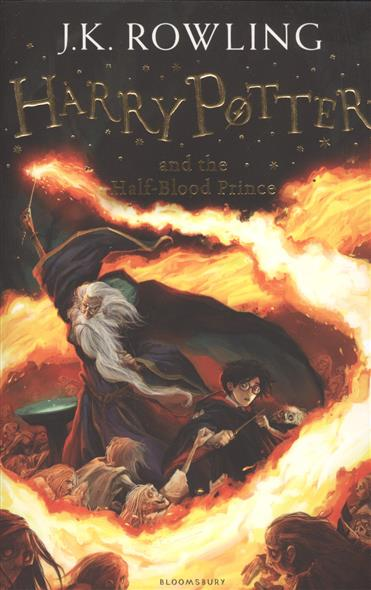 Rowling J. Harry Potter and the Half-Blood Prince дж к роулинг harry potter and the half blood prince