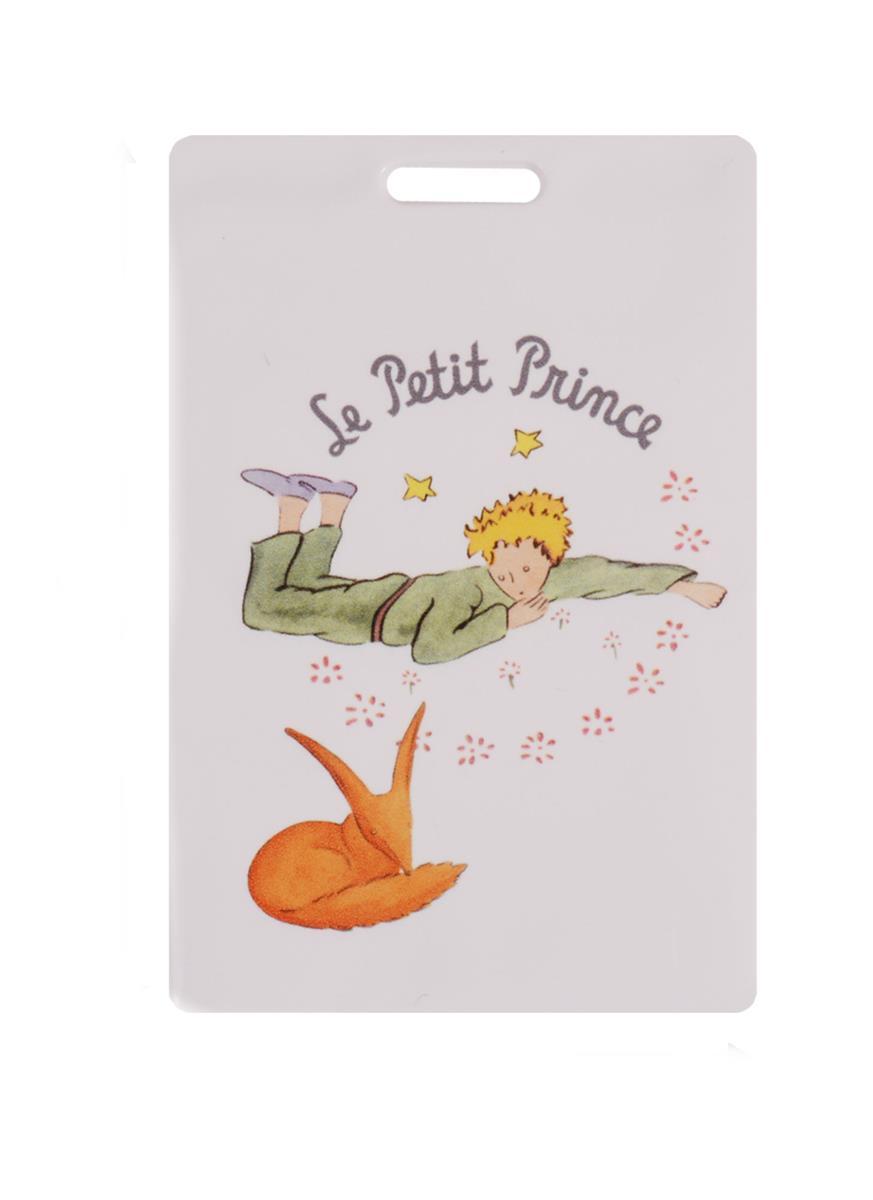 Чехол для карточек Маленький принц Лис и Принц на белом фоне