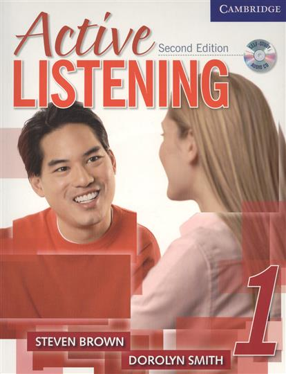 Brown S., Smith D. Active Listening Second Edition Student`s Book 1 (+CD) ноутбук dell vostro 5568 5568 9040 5568 9040