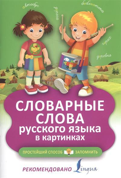 Анашина Н.: Словарные слова русского языка в картинках