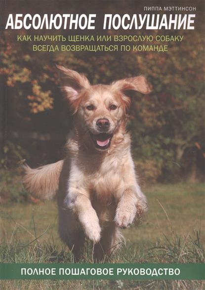 Абсолютное послушание. Как научить щенка или взрослую собаку всегда возвращаться по команде
