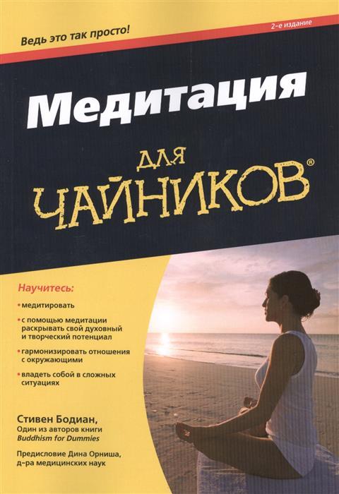 Бодиан С. Медитация для чайников® mitya veselkov обложка для паспорта дорога в сказочный лес