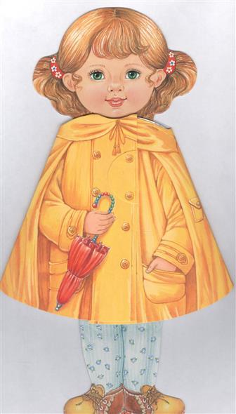 Степанова В. Кукла-книжка Иришка платье крестильное иришка 24 26