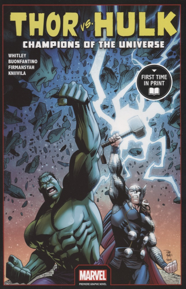 Whitley J. Thor Vs. Hulk: Champions of the Universe champions of anteria