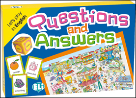 Games: [A2-B1]: Questions and Answers games [a2 b1] l inventafrase
