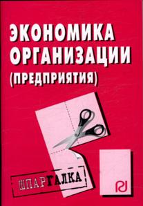 Экономика организация
