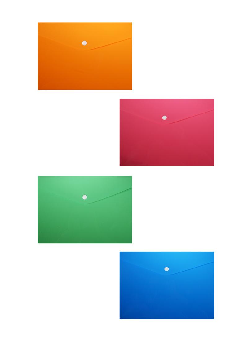 Папка-конверт А6 на кнопке