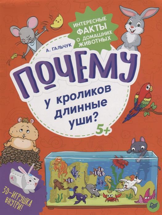 Почему у кроликов длинные уши? Интересные факты о домашних животных, Гальчук А.
