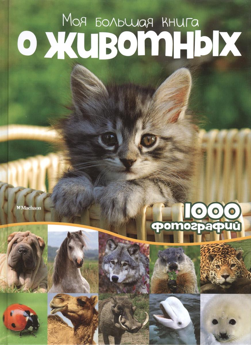 Бологова В. (ред.) Моя большая книга о животных. 1000 фотографий махаон энциклопедия моя большая книга о животных