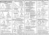Математика Основные сведения