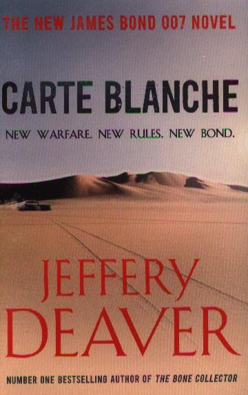 Deaver J. Carte Blanche цена 2017