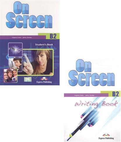 Dooley J., Evans V. On Screen B2. Student.s Book + Writing Book (комплект из 2-х книг в упаковке) evans v reading writing 2 teacher s book