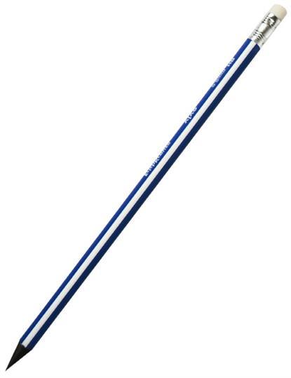 Карандаш трехгранный с ластиком