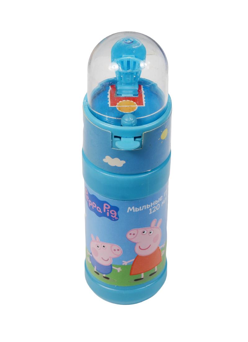 Мыльные пузыри Свинка Пеппа баскетбол (120мл)