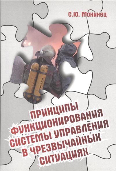 Принципы функционирования системы управления в чрезвычайных ситуациях
