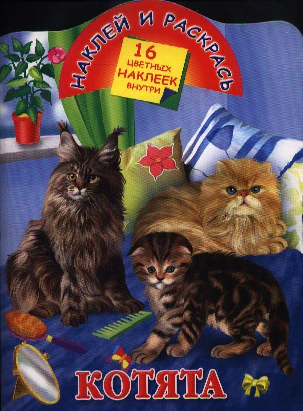 Глотова В. (худ.) Котята. 16 цветных наклеек внутри ISBN: 9785170778263 глотова в худ азбука набор карточек