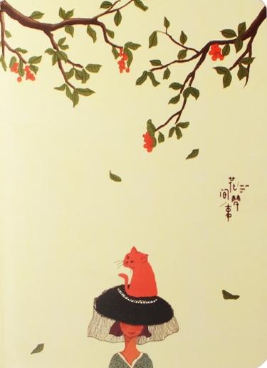 """Записная книжка """"Cat on the hat"""", А6, 46 л."""
