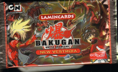 Набор карточек Bakugan New Vestroia