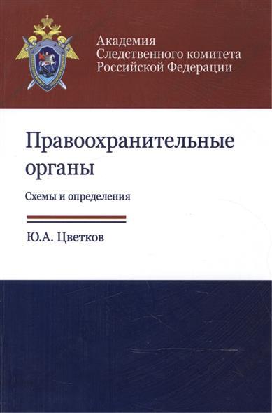Правоохранительные органы. Схемы и определения. Учебное пособие
