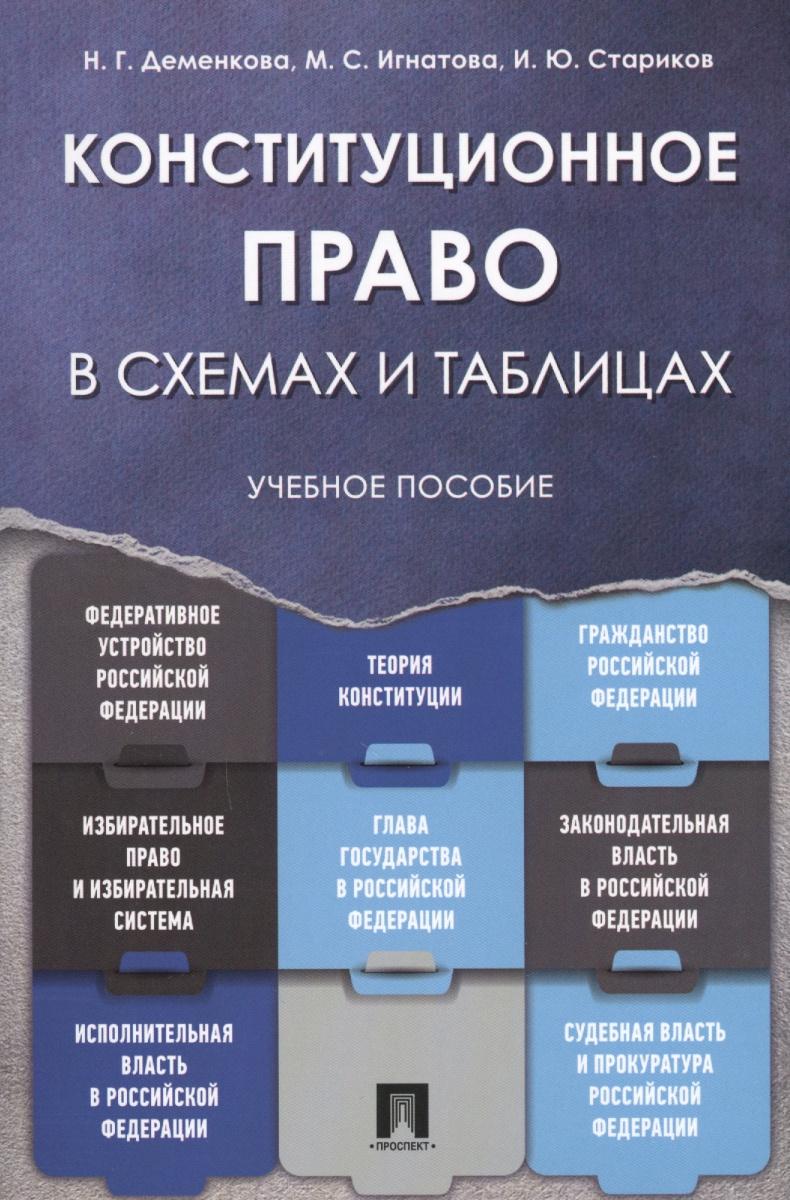 Конституционное право в схемах и таблицах. Учебное пособие