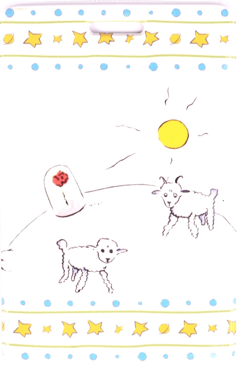 """Чехол для карточек """"Маленький принц: Барашки и роза"""""""