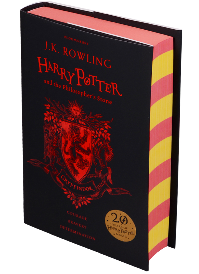 Rowling J. Harry Potter and the Philosopher's Stone - Gryffindor Edition Hardcover rowling j k harry potter and the cursed child parts i