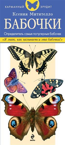 Митителло К. Бабочки. Определитель самых популярных бабочек. Определитель содержит описания и изображения дневных и ночных бабочек, обитающих в средней полосе России анастасия колпакова арбуз дыня алыча и другие южные культуры выращиваем в средней полосе
