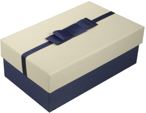 "Коробка подарочная ""White&Blue"", 19*12*7,3см"