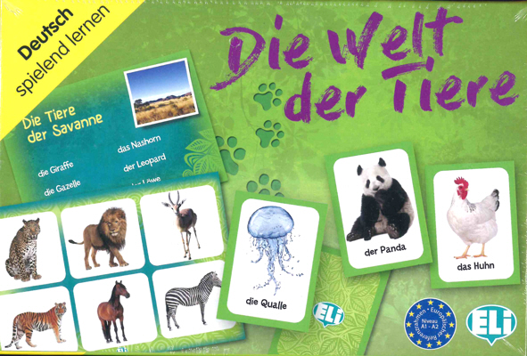 Games: [A1-A2]: Die Welte der Tiere [zob] original authentic imported omron relay g3fd x03s vd dc4 24 2pcs lot