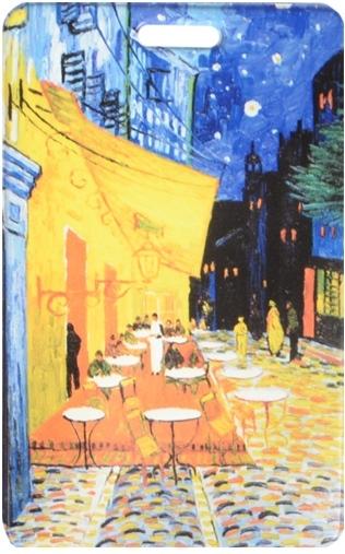 """Чехол для карточек """"Винсент Ван Гог. Ночное кафе"""""""