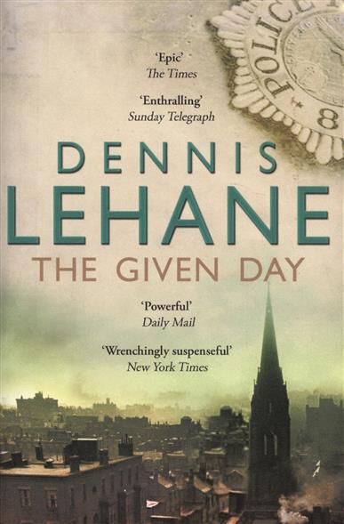 LehaneD. The Given Day ISBN: 9780552775588 lehane d shutter island