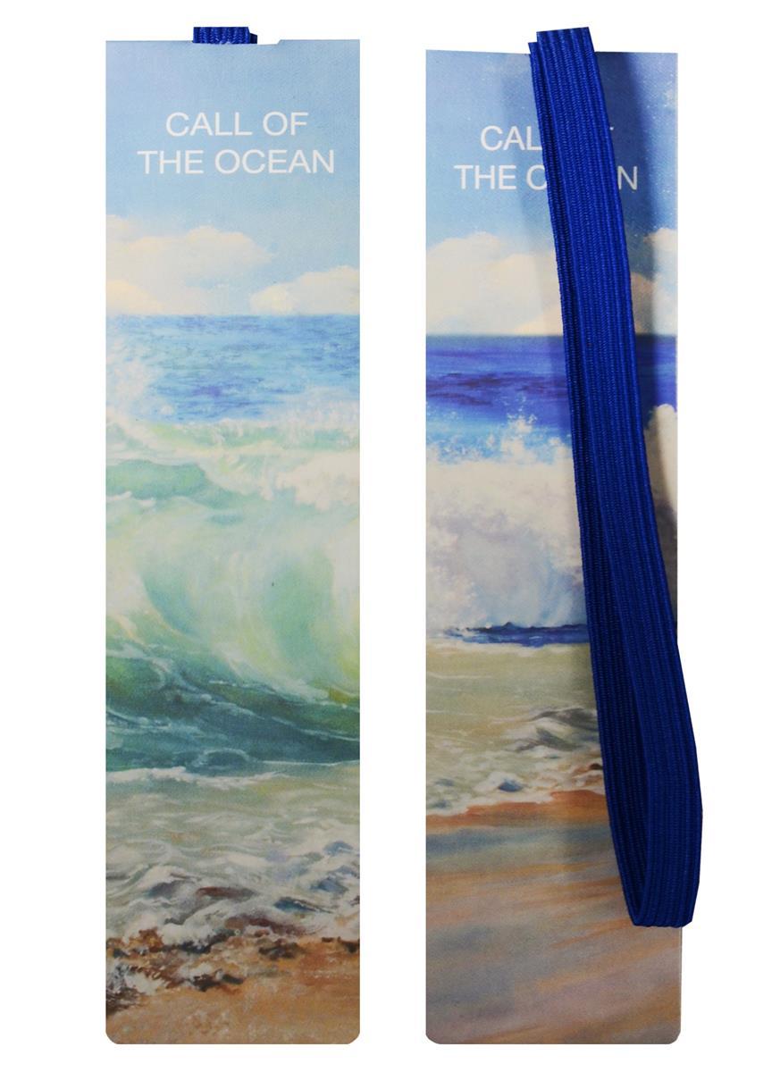 Закладка с резинкой Океан