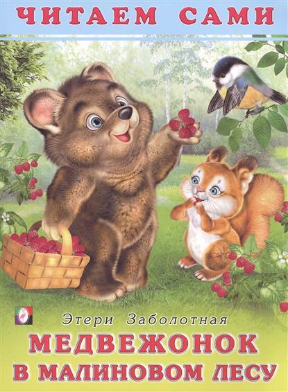 Медвежонок в малиновом лесу. Читаем сами