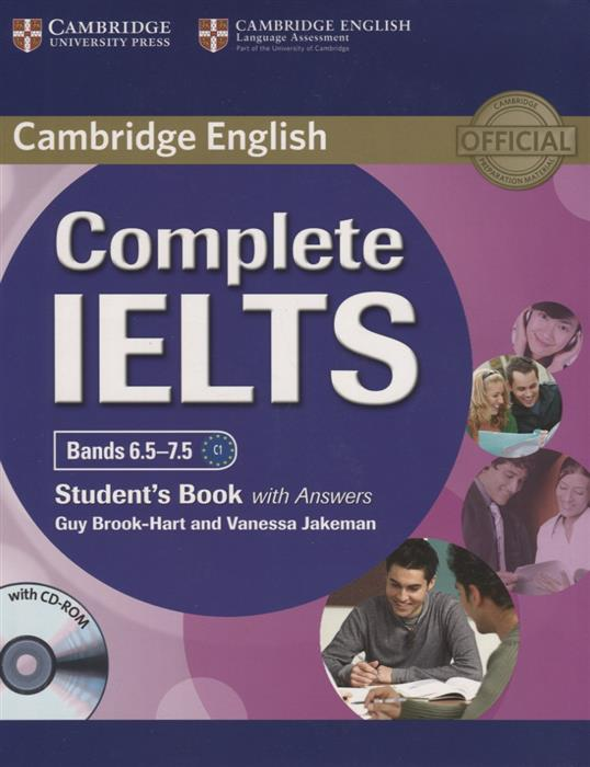 Brook-Hart G., Jakeman V. Complete IELTS. Bands 6.5-7.5. С1 Students Book with Answers (+CD) complete ielts bands 6 5 7 5 student s book with answers 2 cd cd rom