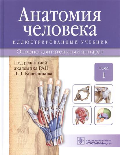 Колесников Л.(ред.) Анатомия человека. Учебник: Том 1. Опорно-двигательный аппарат анатомия человека в 2 х томах том 1 cd