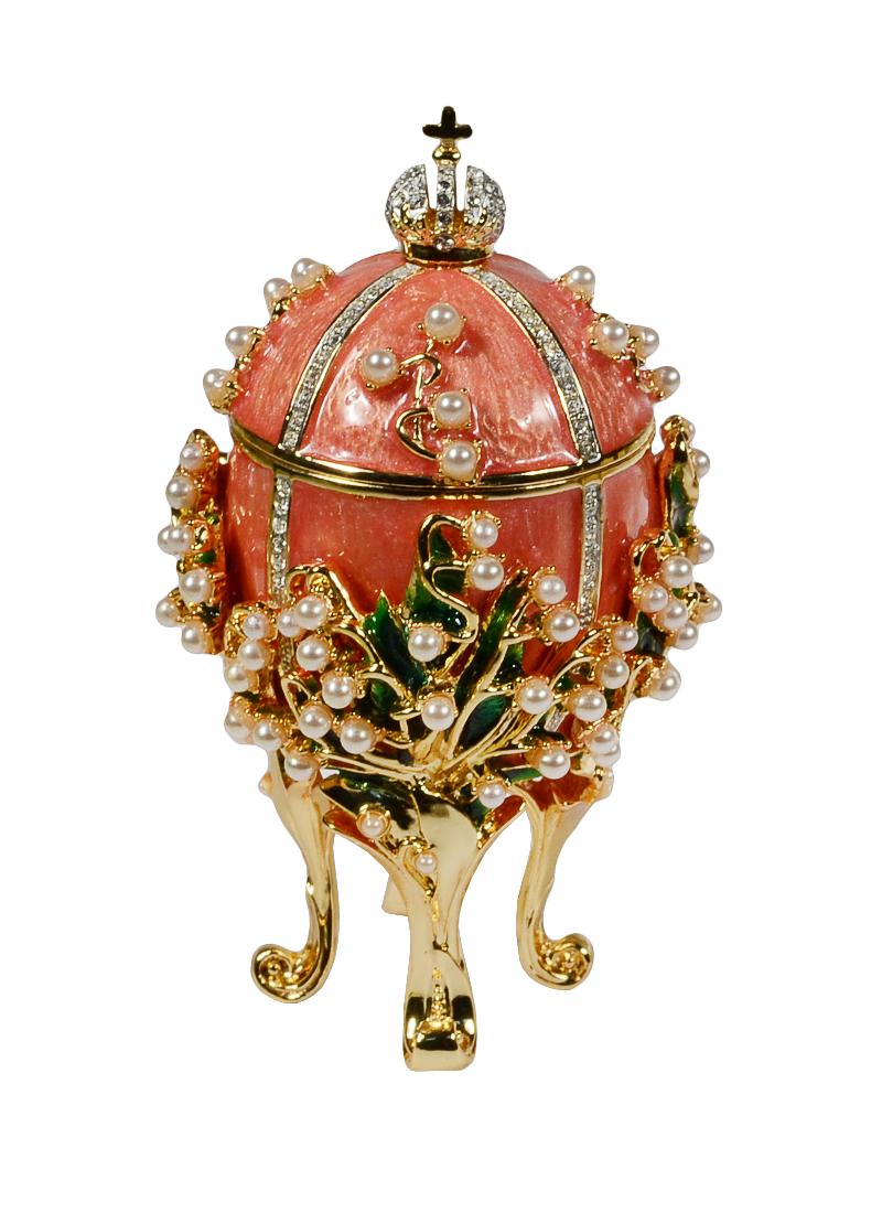 Яйцо пасхальное Ландыш малое (цв.розовый)