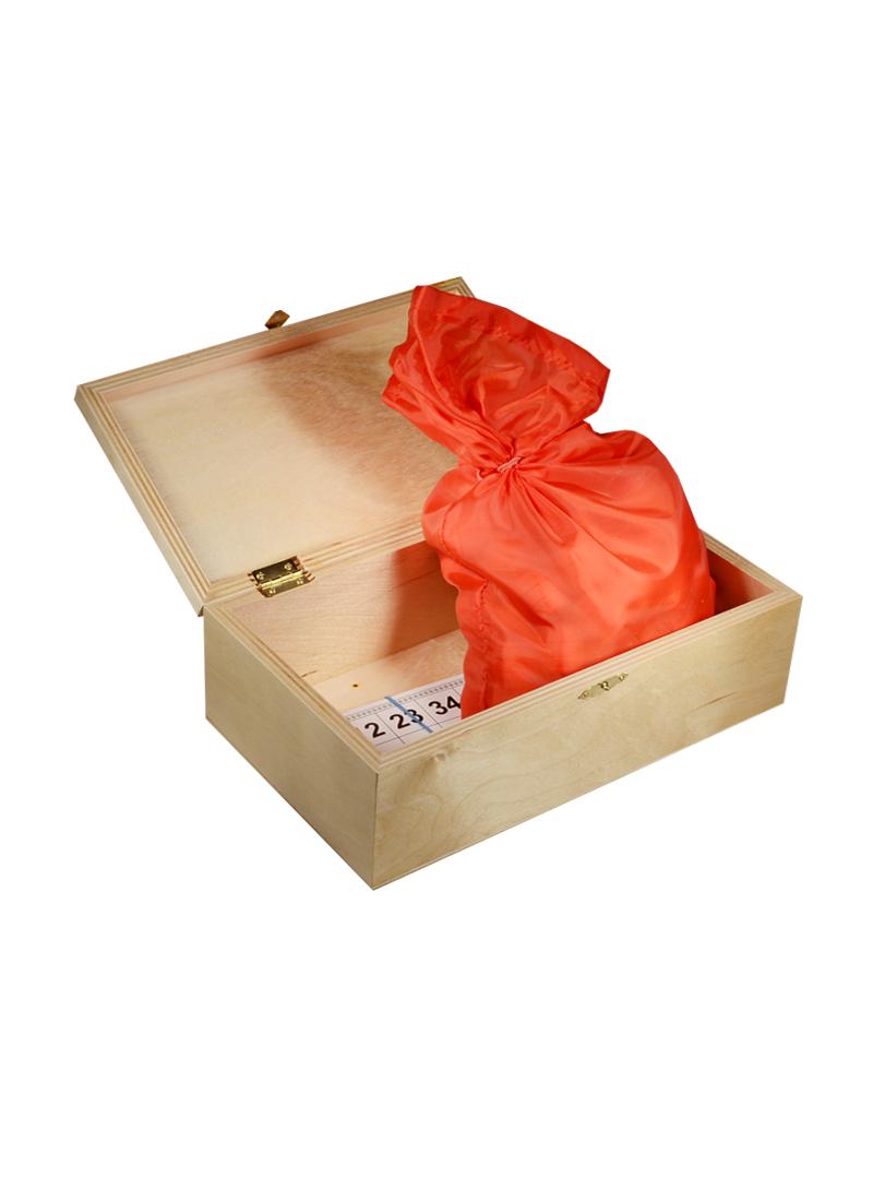 Игра Лото в подарочной деревянной коробке Три медведя (14х25х8) (123-069)