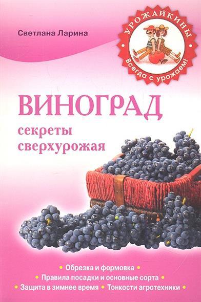 Ларина С. Виноград. Секреты сверхурожая