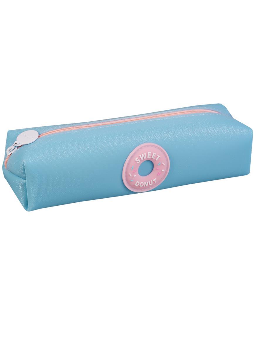 Пенал на молнии Пончик Sweet Donut (ПВХ) (20х4,5)