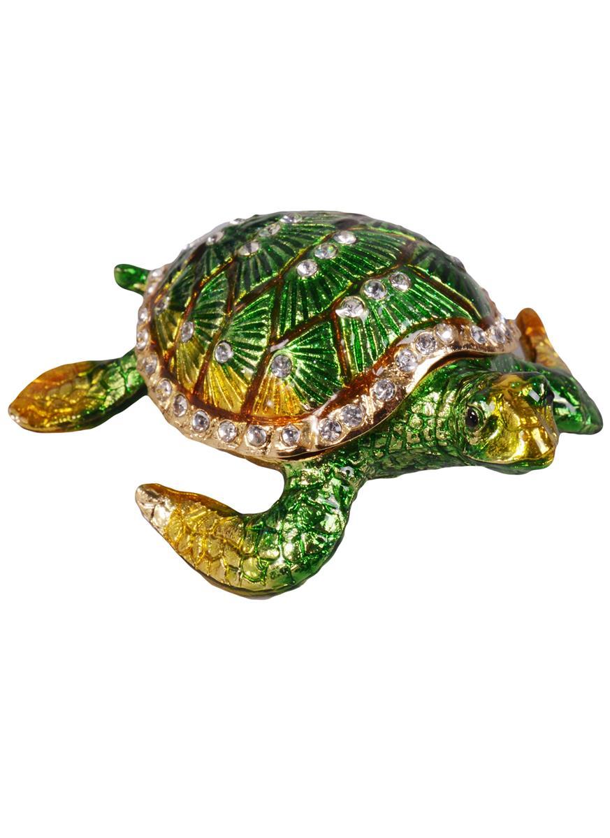 Шкатулка Черепаха (цв.зеленый)