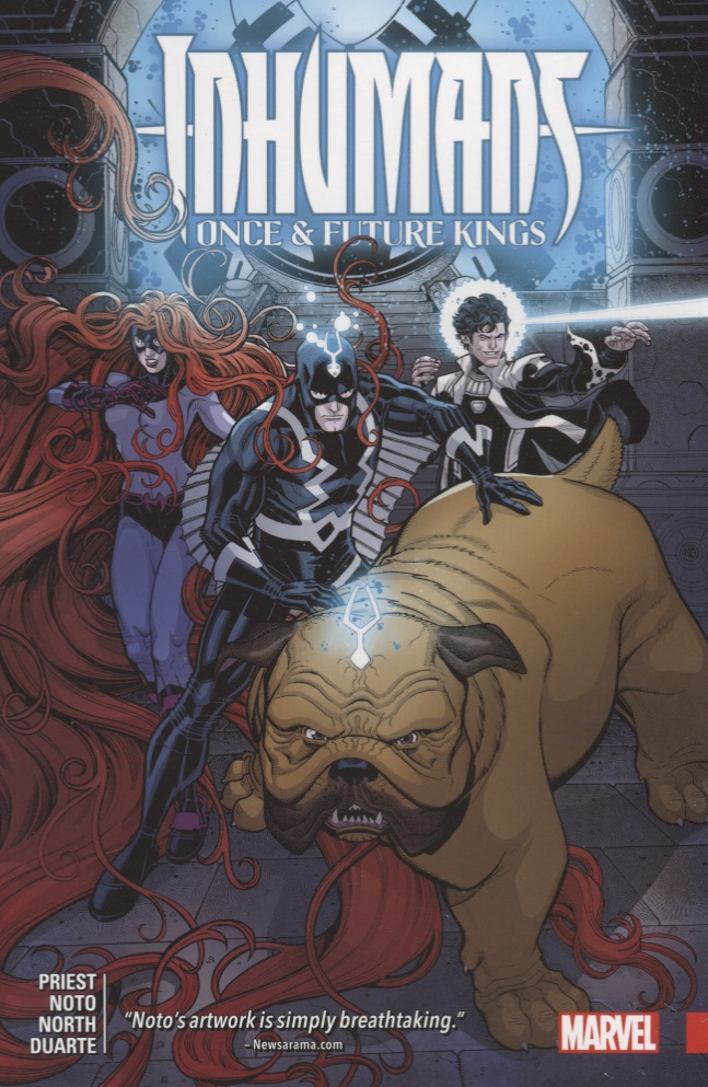 Priest C. Inhumans: Once and Future Kings kings and queens
