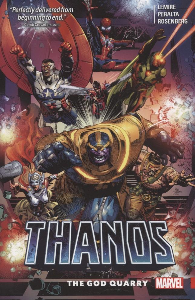 Jeff Lemire Thanos Volume 2: The God Quarry bride of the water god volume 14